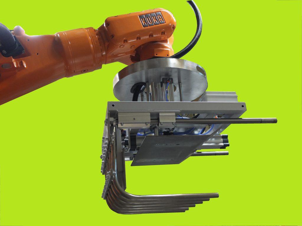 Robot paletizador industrial de segunda mano