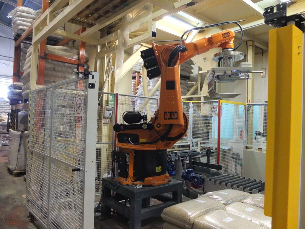 Robots paletizadores de segunda mano totalmente garantizados for Robot limpiafondos piscina segunda mano